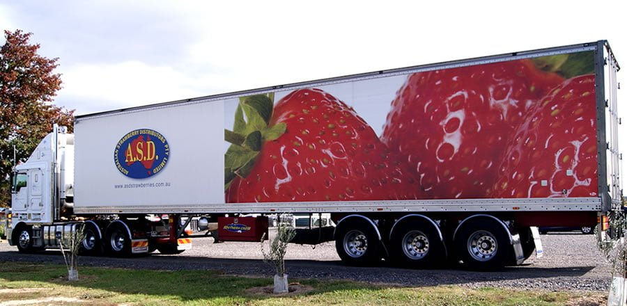 ASD Strawberries Truck